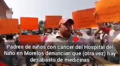 Image for the Tweet beginning: 🔴No hay medicinas para niños