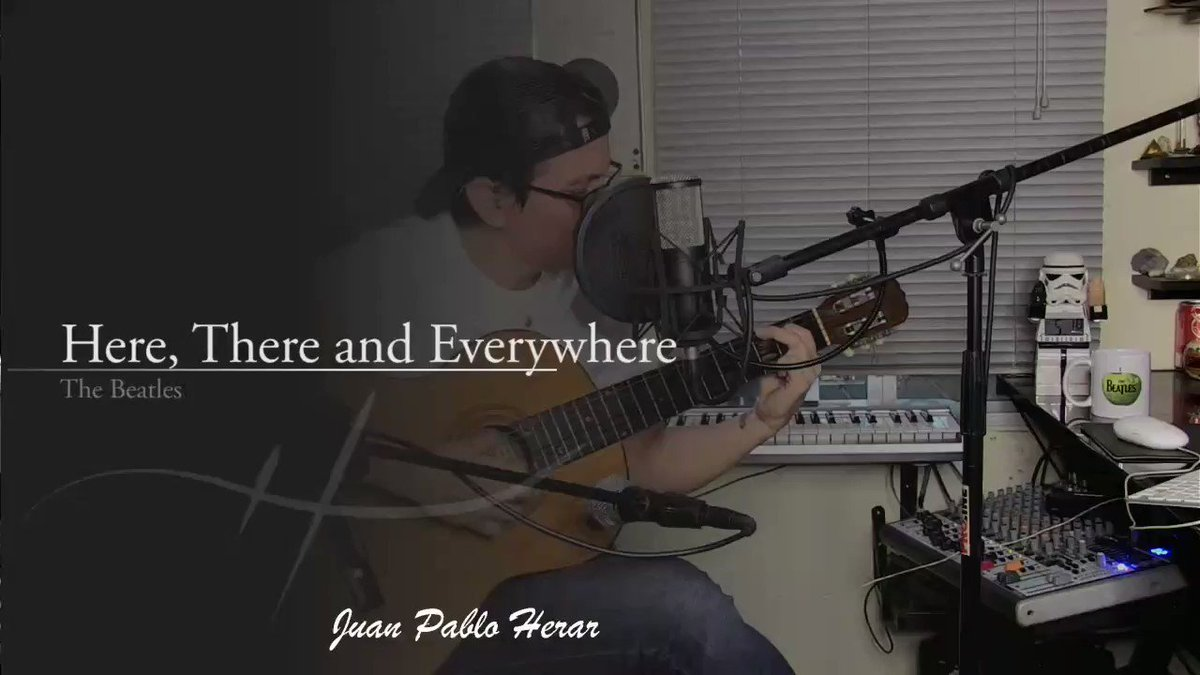"""I met this song on The Beatles album """"Love Songs"""", it was a brown top vinyl record. https://youtu.be/1eEL7CcH4T4 . . #thebeatles #herethereandeverywhere #music #performer #love #peace #respect #health #stayhome #musica pic.twitter.com/kCNACbjPTM"""