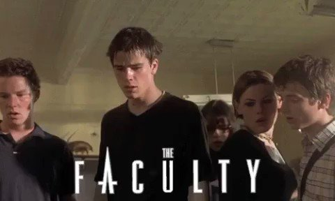 The Faculty: underrated or overrated?   Never seen it? Watch it.  #movie #movies pic.twitter.com/IT4WJMtnvX