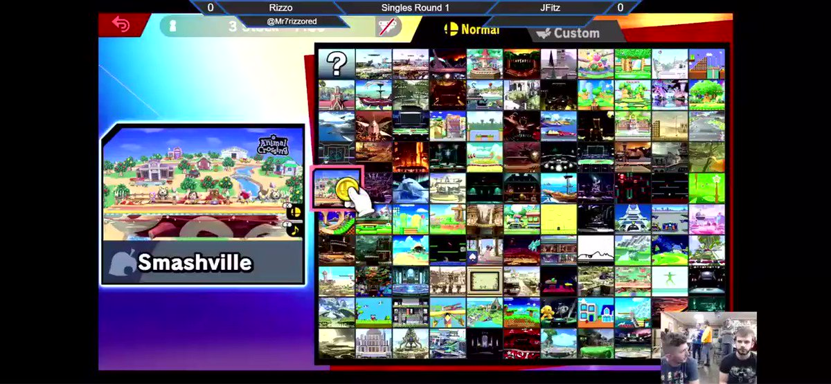 #Visual Mode: Images and characters that people see. This clip has No Sound and it presents the characters in the game of Super Smash Bro's, SSB. One of my favorite characters is Pikachu. Players get choose their best selection and the game starts. pic.twitter.com/NoompshGD9