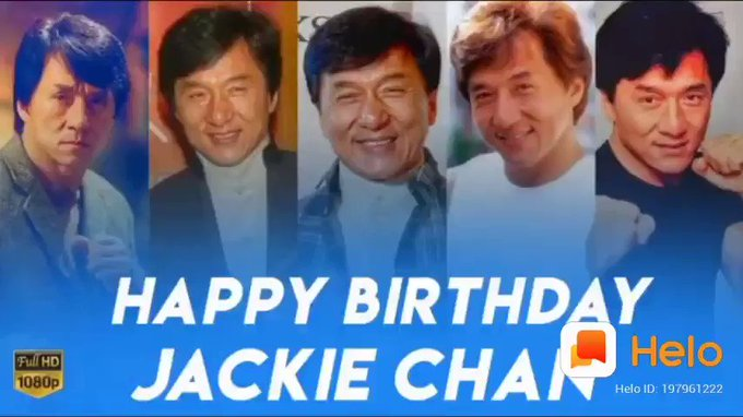 wish you Happy birthday THAlaivaa   JACKIE CHAN...    greatest Human being.. World legendary Actor..