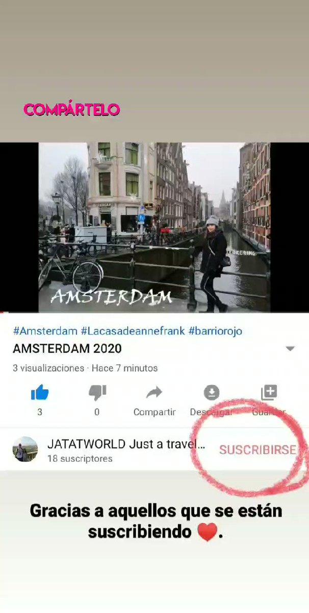 Amsterdam 2020 #jatatworld #viajar #travel #youtubechannel