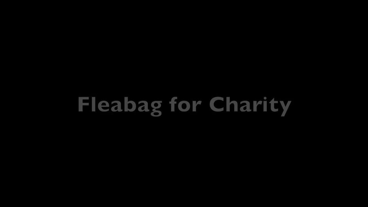 Replying to @DryWrite: 🤓 #Fleabagforcharity #Peopleareallwegot