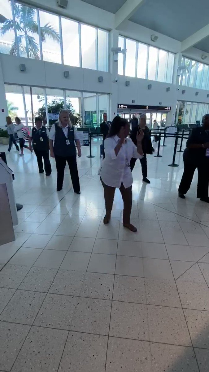 """@LouFarinaccio @weareunited And here is the RSW A Team with there version of the lobby shuffle to the tune of """"we are family."""""""