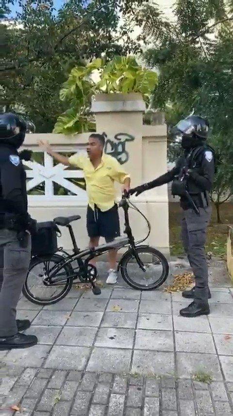 ¿Qué pasó aquí @CarmenYulinCruz?  Espero que no sea por su nacionalidad...además uno puede utilizar una bicicleta para comprar suministros. 🧐🧐 @ACLU @ACLUPR