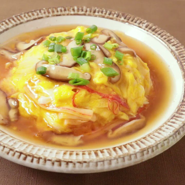 今日のお昼ごはんは決まりましたか?😋『卵があれば今日はこれ!あったか天津飯』ふんわり卵の天津飯のご紹介です。ふわふわの卵にとろとろのあんがよく合い、ごはんとの相性も抜群です。ぜひ作ってみて下さい。▼レシピページはこちら