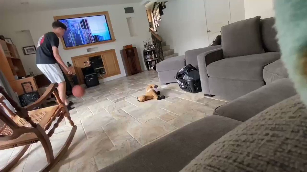 """My dad was beyond pissed """"CAUSE OF THE FUCKEN BALL RIGHT"""" 😂"""