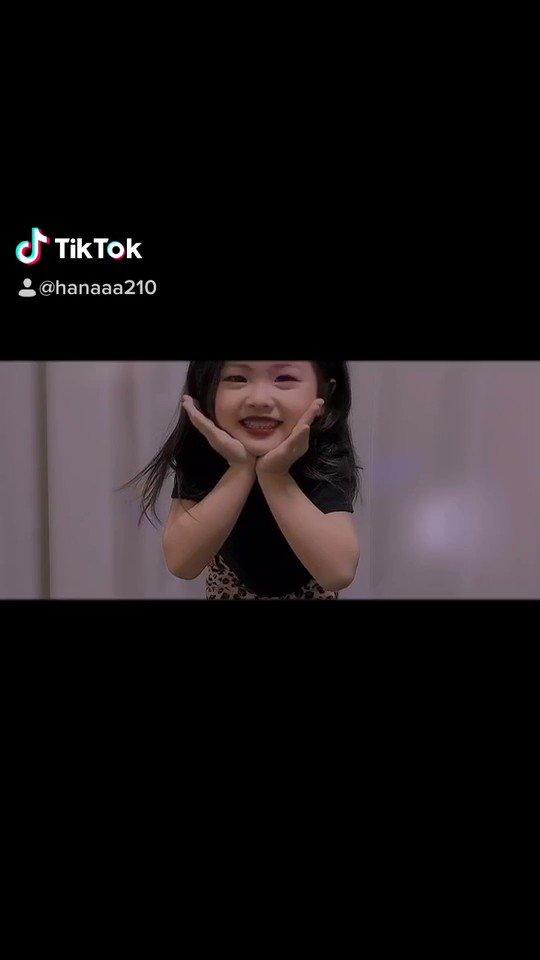 【5歳の娘がTikTok始めました】#ダンスを習い始めてまだ間もなし