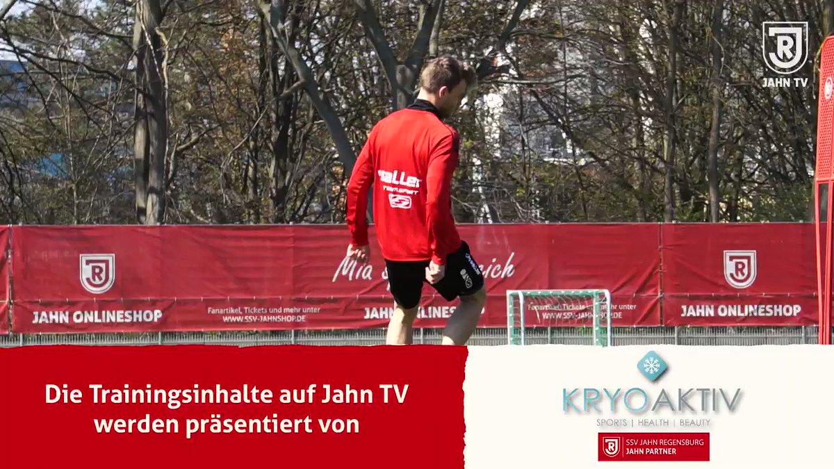Image for the Tweet beginning: Die Jahn Profis sind Anfang