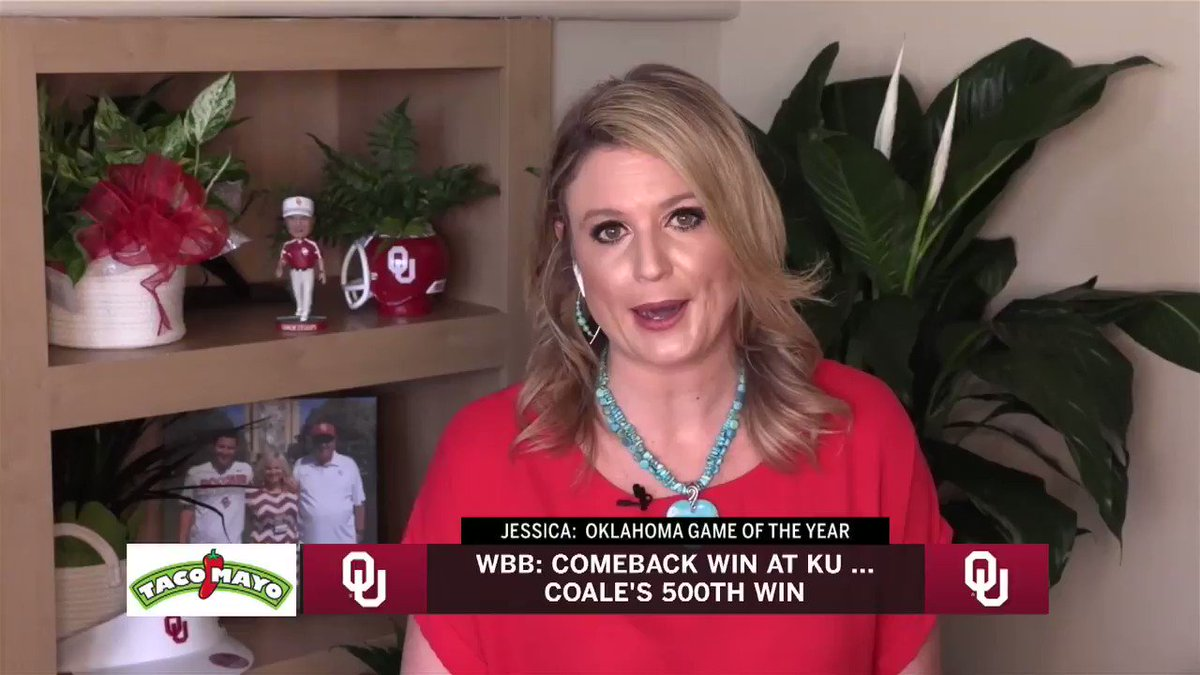 A 22-point comeback. An OT road thriller. A pair of double-doubles. A 31-point performance. And the head ball coach's 500th win.  @JessicaCoody weighs in on her top game of the season on @SoonerSportsTV pic.twitter.com/0NlqUTZyJj