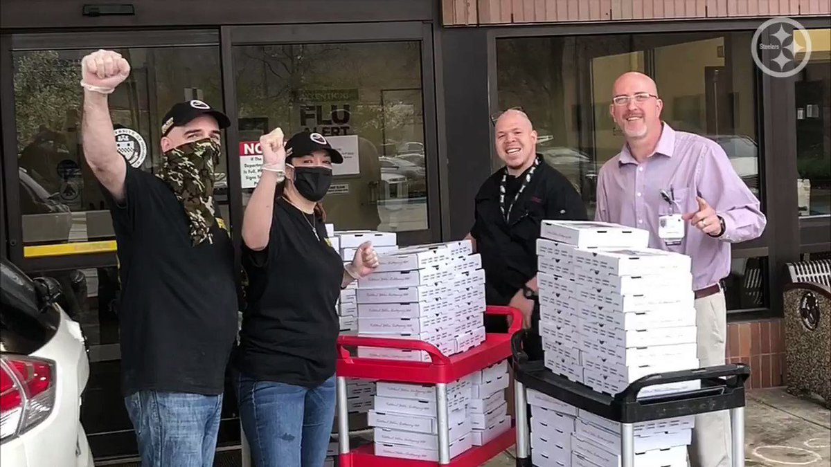 Thanks to your donations, Pittsburgh pizza shops are making & delivering delicious food for health care workers who are caring for those who have been impacted by COVID-19. Let's help keep the deliveries going! Donate: bit.ly/3bQUpFo
