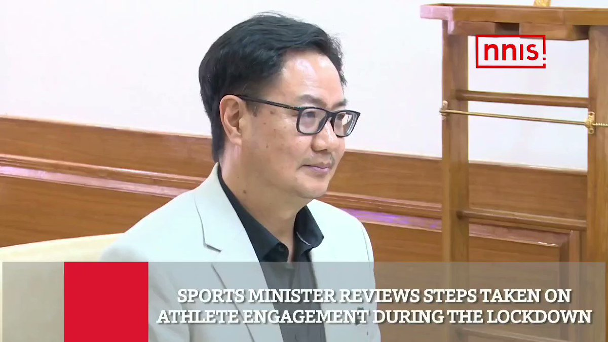 During 21-Day lockdown, all the athletes are regularly in touch with their coaches, trainers, nutritionists and SAI officials through online. Sportspersons are regularly inspiring the citizens and hugely contributing in India's united fight against #Covid19 #IndiaFightsCoronapic.twitter.com/BIj0XhG29V