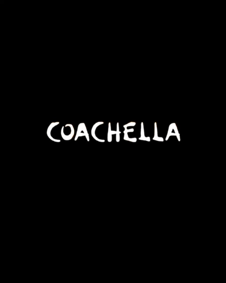 """Wake Up from @coachella 2011 featured in """"Coachella: 20 Years in the Desert"""" documentary out April 10th AT 12pm PDT. Watch the full song at  #couchella #coachelladoc"""