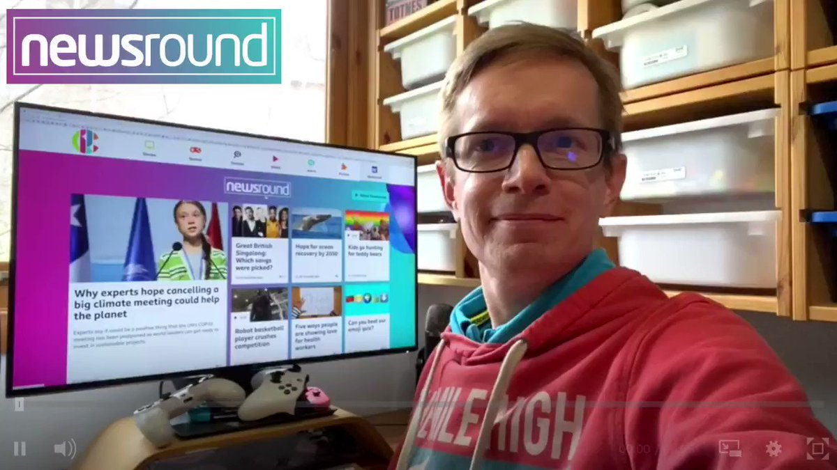 Our editor was on Newsround today to talk about how to connect with friends and family with video calls, social media and games.