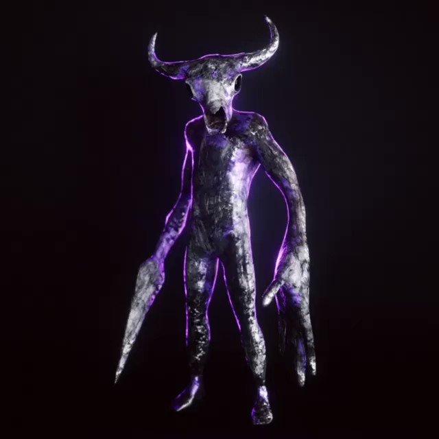 By @mhsmax   Destruction Sunday 💀 . New animation made with SideFx Houdini. . #animation #cinema4d #pink #motiondesign #elegant #blue #progress #3d #artwork #visual #art #woman #sculpting #mechas #collab #skull #illustration #photo