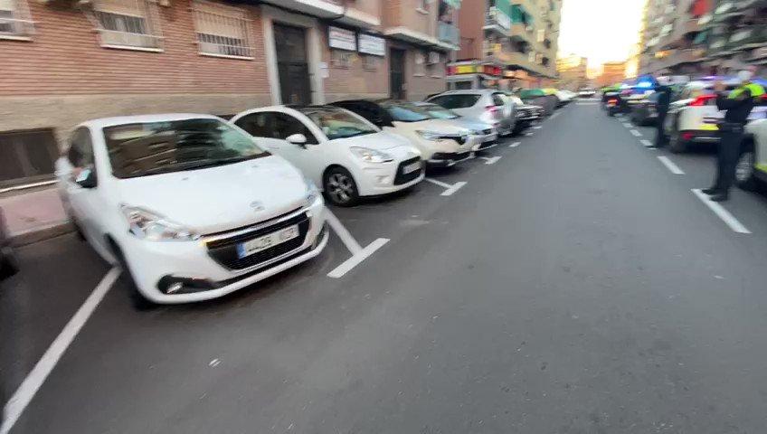 Image for the Tweet beginning: Hoy la policía local han