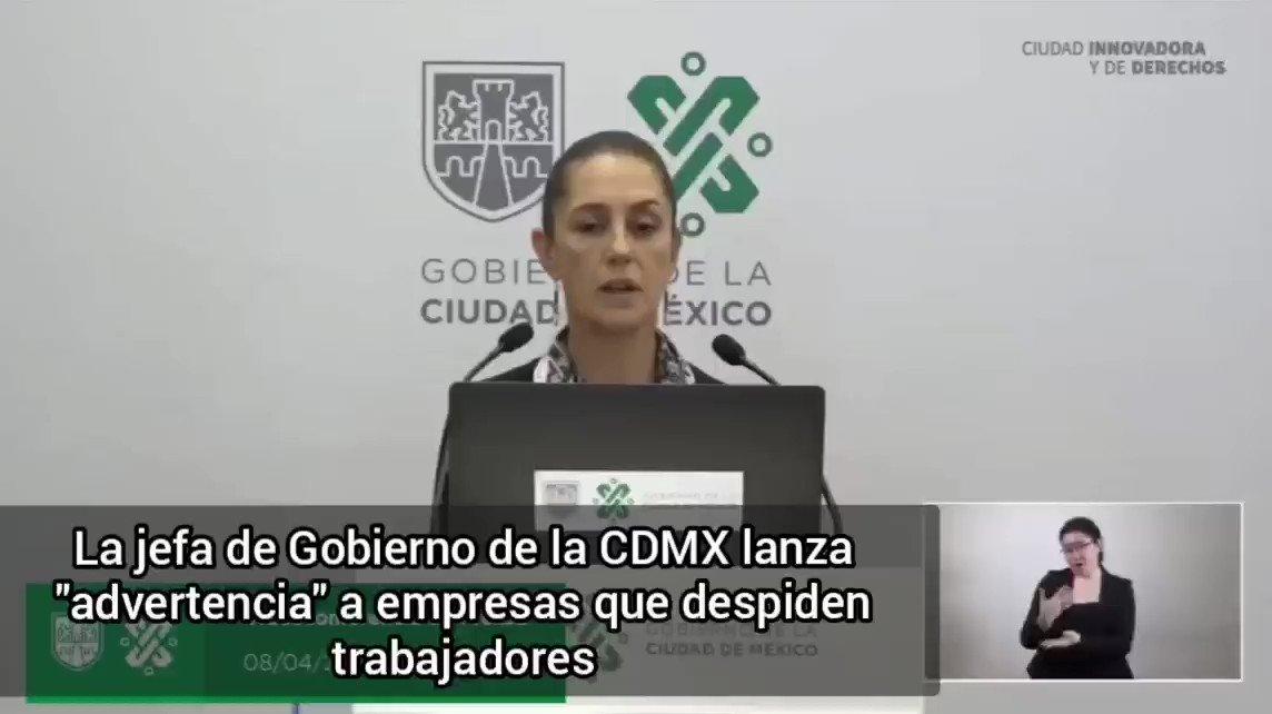 Image for the Tweet beginning: 🔴La jefa de gobierno de