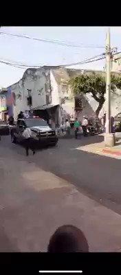 Image for the Tweet beginning: 👽 Policías de #Cuautla #Morelos