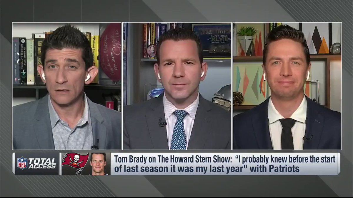 Image for the Tweet beginning: From @NFLTotalAccess: After Tom Brady
