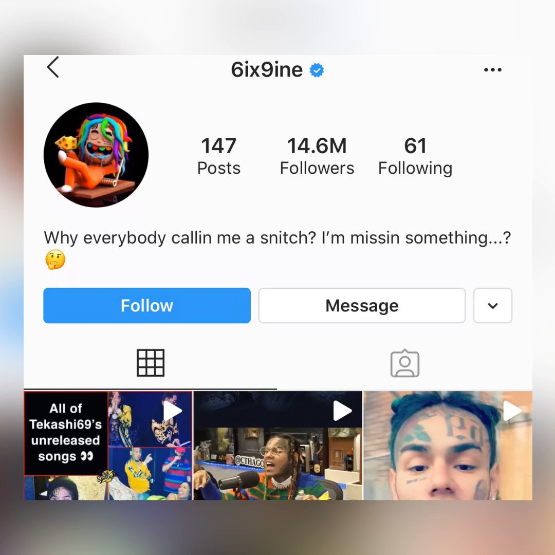 #6ix9ine has a question...👀🤔