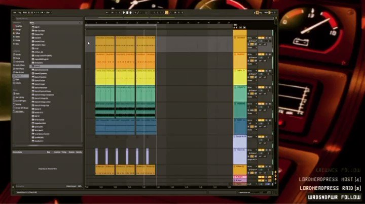 Today's live stream beat. Might do an MC contest for this one?  #sp404sx #ableton pic.twitter.com/a7l0MXZsui
