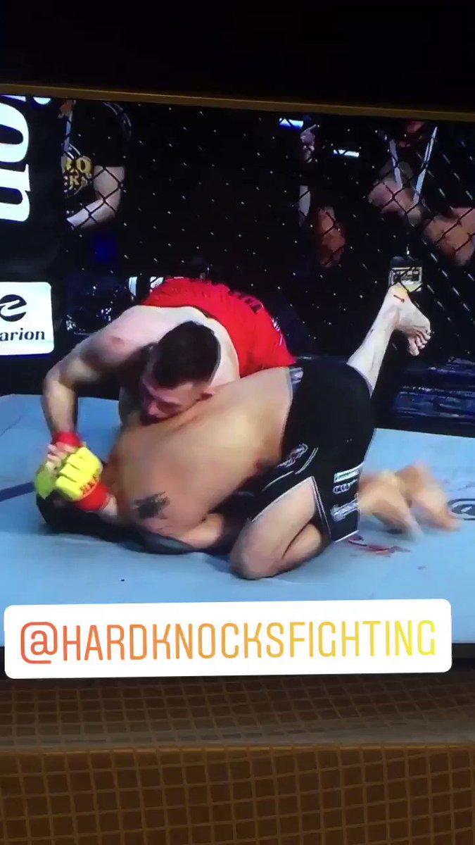 Hard knocks fighting @HKFighting champ champ