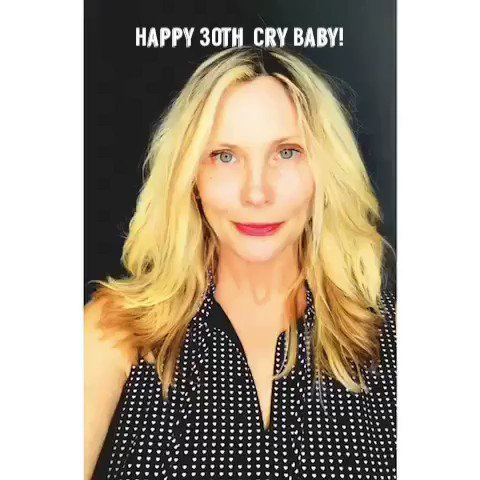 Image for the Tweet beginning: Happy Anniversary Cry Baby!!! @