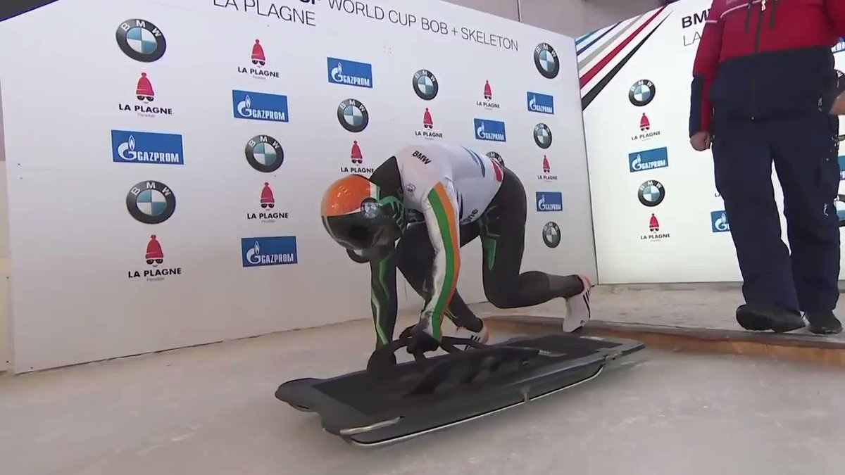 In such uncertain times it really helps to have consistency, and mine is training. I may not know what's around the corner but what I can say is that today I did what I could to be better. Keep that up everyday and you're onto a winner. @TeamIreland @IBSFsliding
