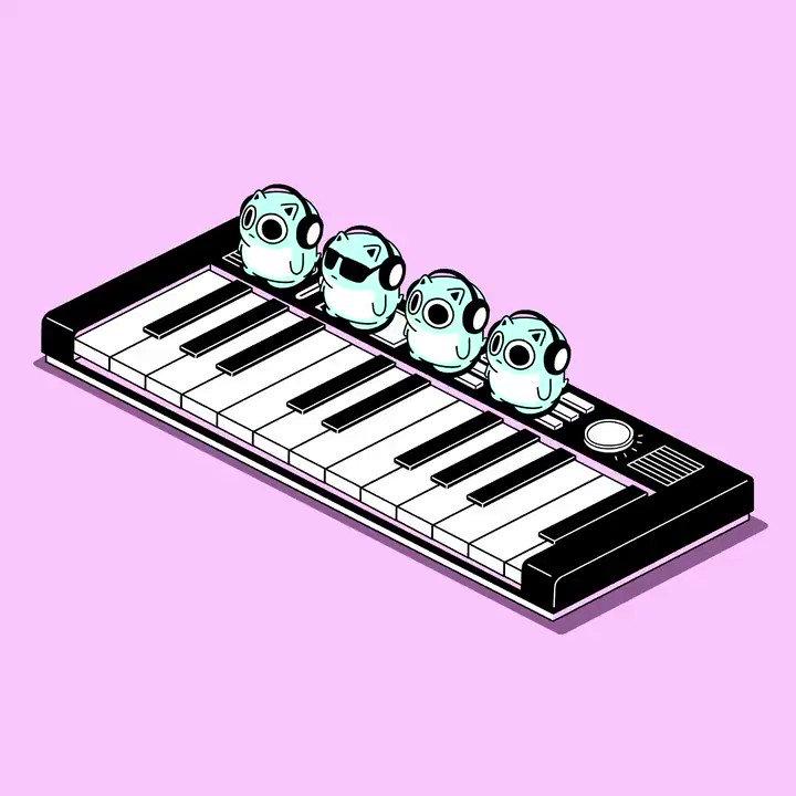 小さなキーボーディスト2#小さな音楽隊