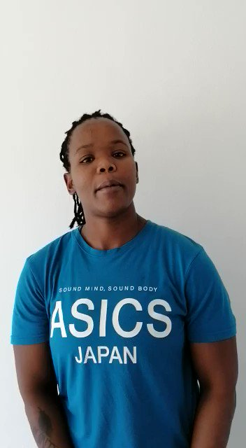 #LOCKDOWN LUNCH DATE with the #Imbokodo Please meet Sizo Solontsi! @FNBSA @ASICS_ZA @CastleFreeSA #Inspire @pauldelport9