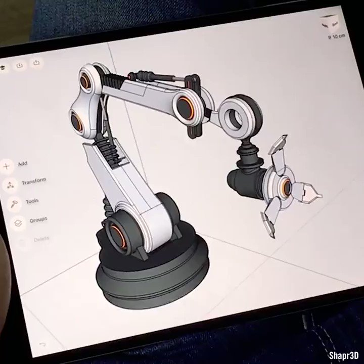 Top story: @MikeQuindazzi: 'Mobile #CAD system to designed to run on your #iPAD  >>> @IntEngineering via @MikeQuindazzi >>> #Digital #Engineering #Tablets #4IR #UI #UX #3D >>> Video ' , see more