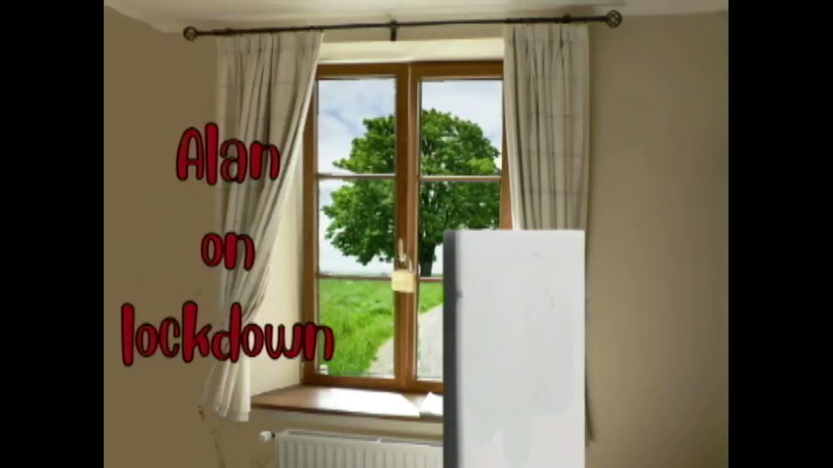Alan on lockdown. https://t.co/gsFRrKEZhg #animation #animated #Quarantine #lockdownextension #lockdown #UKlockdown #Icanthearyou #stockpiling #SocialDistancinguk #QuarantineLife #ToiletRoll #SocialDistancing #StayHomeSaveLifes #IcanthearyouAlan #SelfIsolation 81