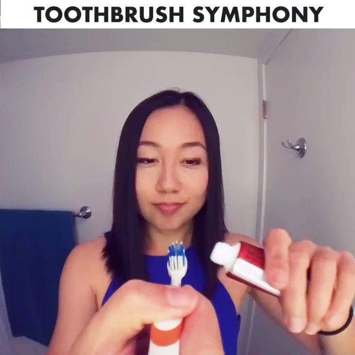 Sound on! I don't always brush my teeth, but when I do...