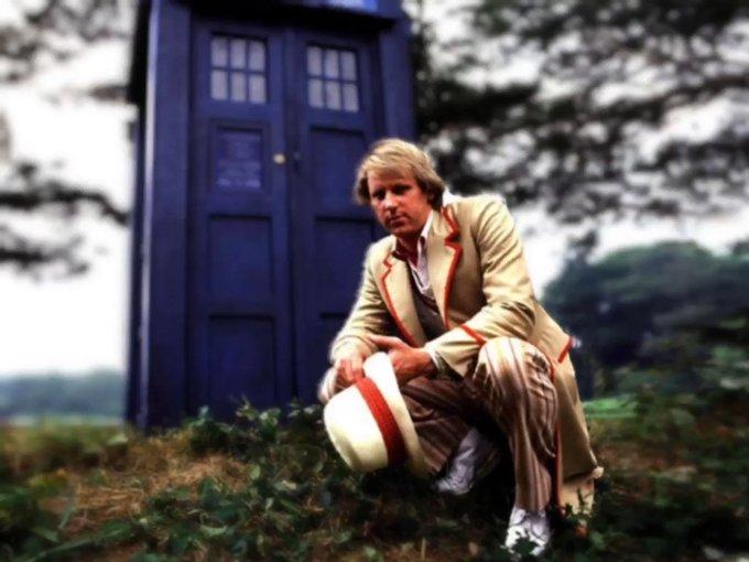 Happy Birthday to the brilliant 5th Doctor, Peter Davison