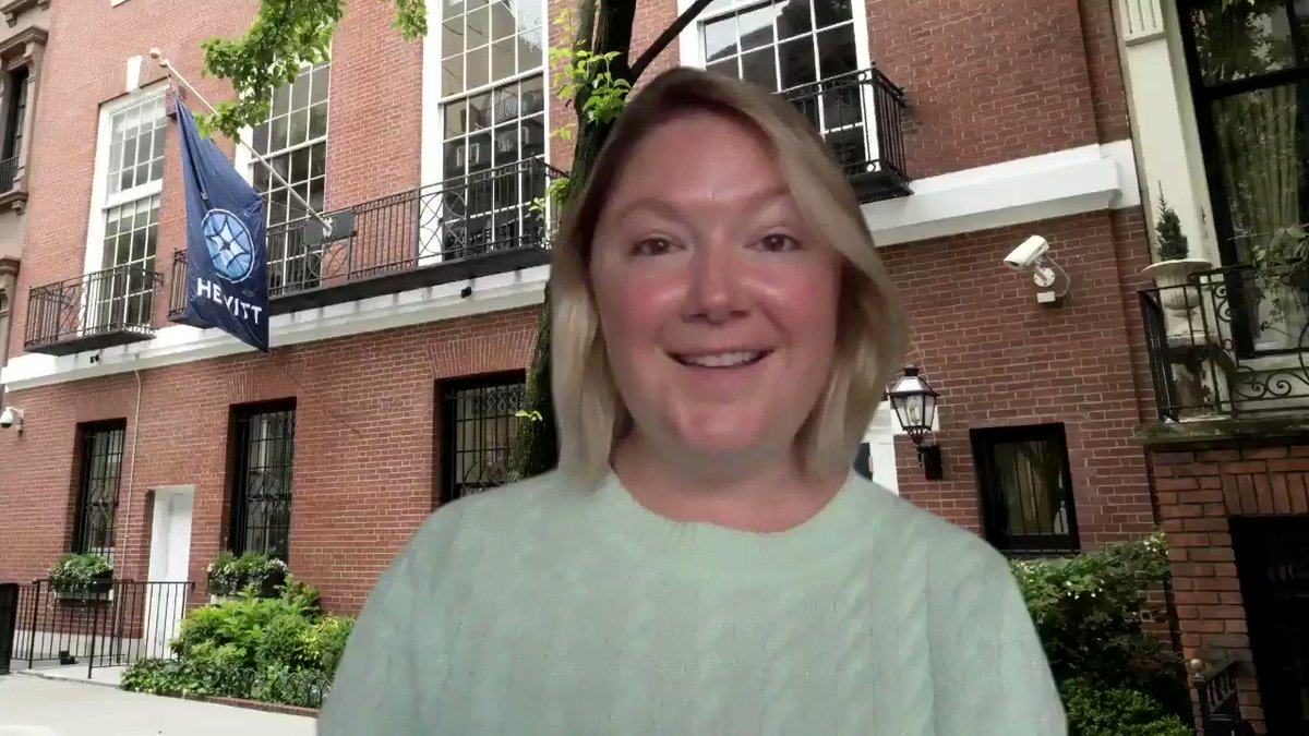 Today's virtual morning greeter is Ms. Jablonski! Have a great day, Hewitt!