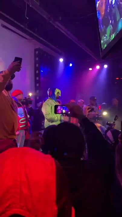 @WHOISCONWAY had the energy in there on different timing that night. 🔊