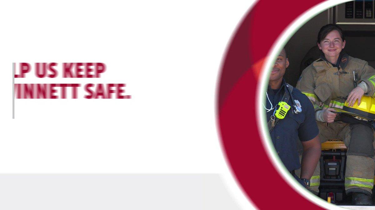 Help us keep Gwinnett safe. #StayHome.