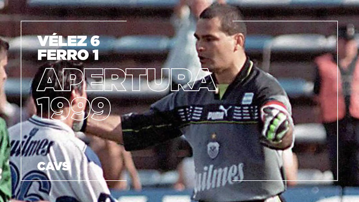 🧤🎩 A goalkeeper scoring a hat-trick is too fictitious for even a comic book, right? 🗞️  ❌ Wrong. #OnThisDay in 1999 @JoseLChilavert_ did it for @Velez. 'El Buldog' couldn't half whack a penalty! 💥