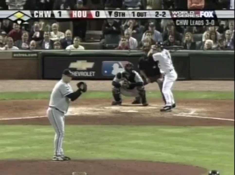 Juan Uribe with the play that will forever define his career. #Game4 #WhiteSox