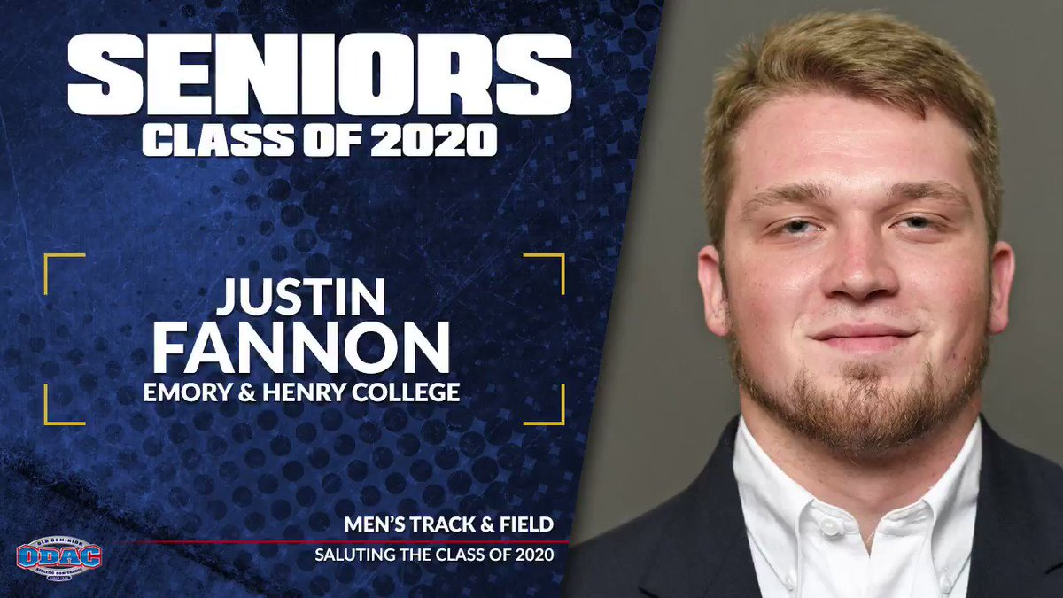 Saluting the Class of 2020 | Men's Track & Field -- Justin Fannon and Trel Phillips from @GoWasps
