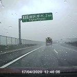 事故るかと思った…。九死に一生?雨の高速道路が危険すぎる!