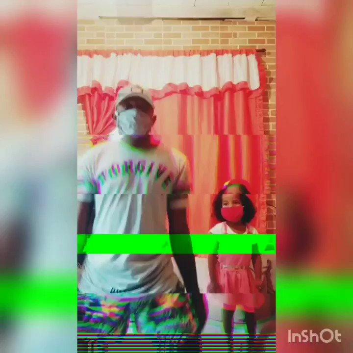 Tentativa de dançar com a minha sobrinha . Não pode #rir 🤫🤣🤣🤣🤣 @eumcbianca #tudonosigilo #quarentena #loucos #emcasa🏡 #bebêneném #tiobabão😍