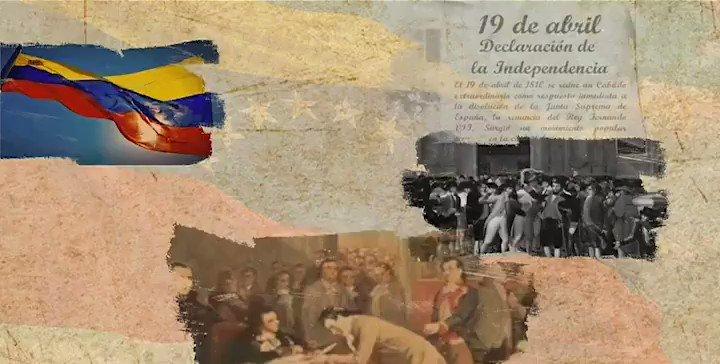 Conmemoramos 210 años de aquel grito de rebeldía que abrió los caminos para construir la Patria Libre y Soberana. El #19Abr nos invoca a seguir leales, por el camino de los Libertadores, defendiendo el derecho a labrar nuestro propio destino, libre de injerencias imperiales.