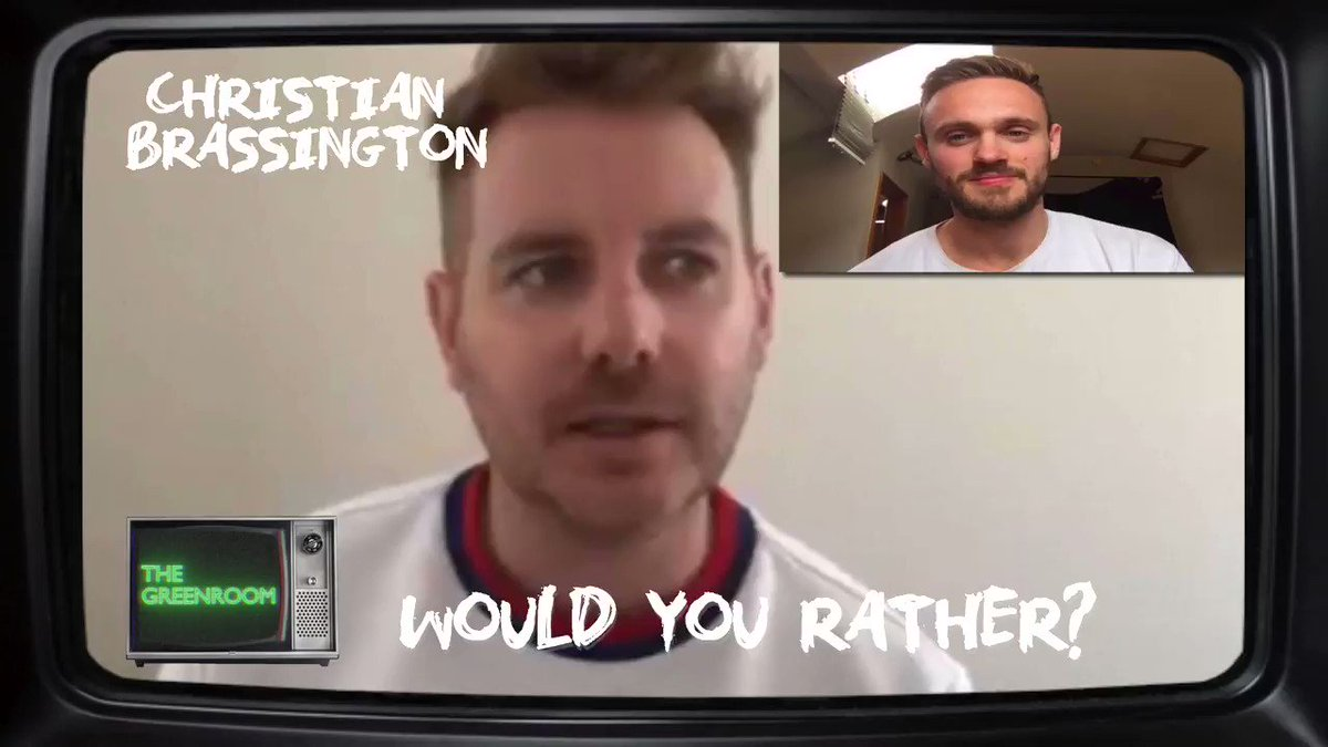 Now on The Greenroom @PoldarkTV s @ChristianBrasso Answers The Fans Would You Rather? Questions! FULL VIDEO: youtu.be/-MxwMzT1y38 @GreenroomNash