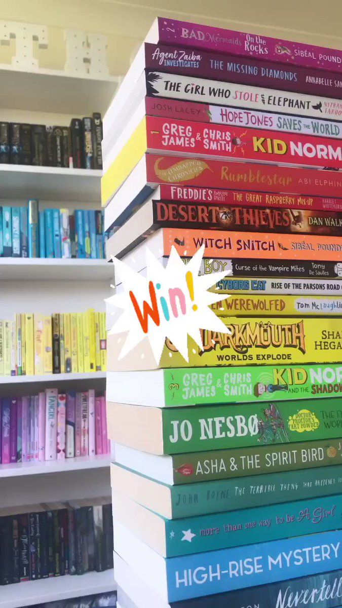 ❤️📚 RETWEET TO WIN! 📚❤️ If you'd like to win this pile of rainbow books, RT this tweet before 24th April (that's this Friday!) & we'll post them to the winner once lockdown is lifted. Don't forget, we've got tons of free book resources at authorfy.com/masterclasses, too!