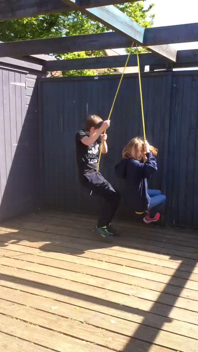 Image for the Tweet beginning: Making swings and enjoying the