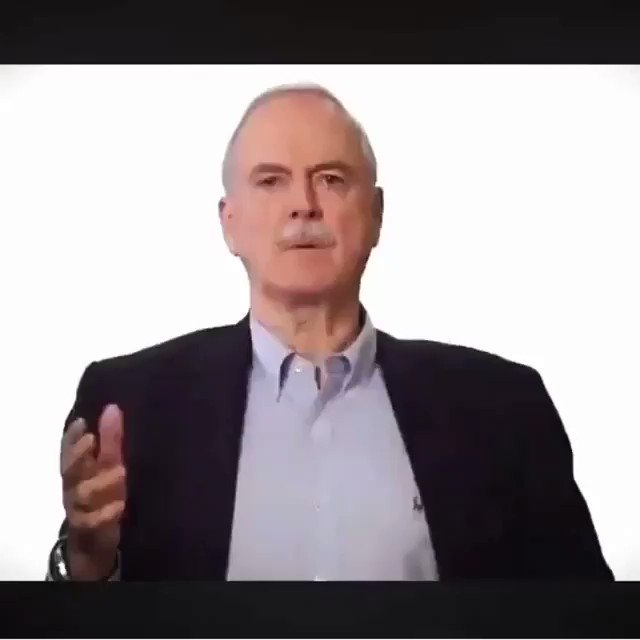 Sadly, those of you who need to hear this the most are too stupid to realize I'm talking directly to you. #johncleese #stupid #people