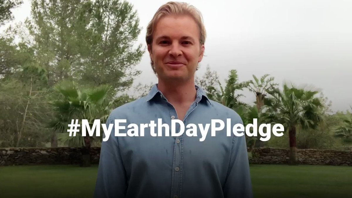 This is #MyEarthDayPledge! Today we celebrate what we call home: Our Earth. It's our responsibility to protect what we love about our environment.   I hereby pledge to significantly reduce my CO2 footprint starting right now. What is your pledge for #EarthDay ? Will you join me? https://t.co/YTTMOqkStw