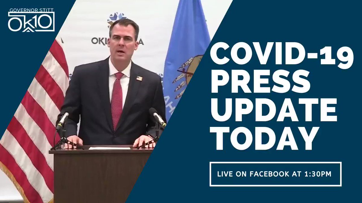 Join us on Facebook live at 1:30 PM for an update on the state's response to #COVID19.