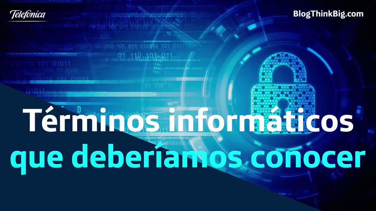 'Malware', 'Phising', 'Ransomware'... Nos podemos al día sobre los términos más importantes en seguridad informática. @ThinkBig_open https://t.co/JUUAXiIlo0 https://t.co/49fToWVK5c